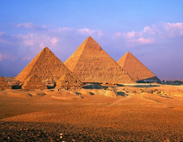 As Pirâmides de Gizé – Egito, Africa