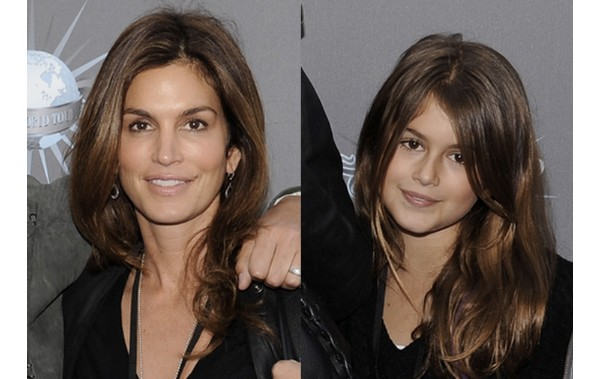 Cindy Crawford e Kaia