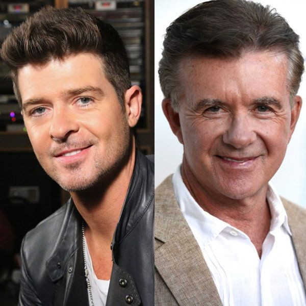 Alan Thicke e Robin