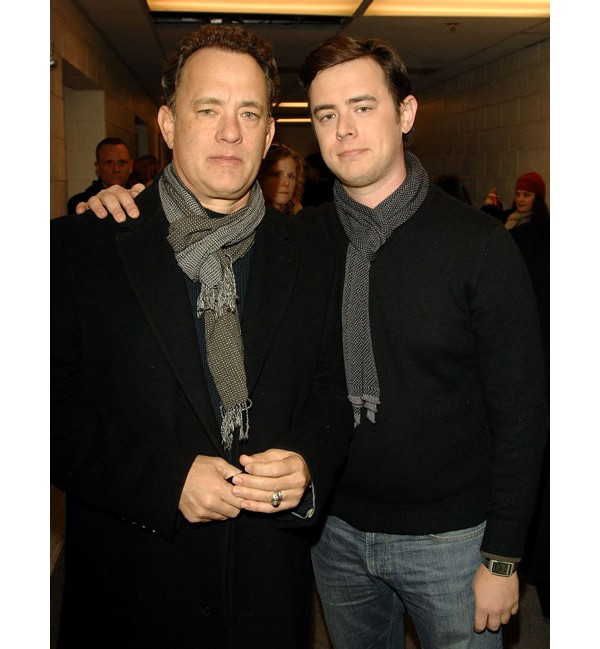 Tom Hanks e Colin