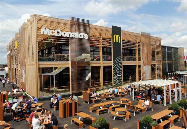 O maior McDonald's