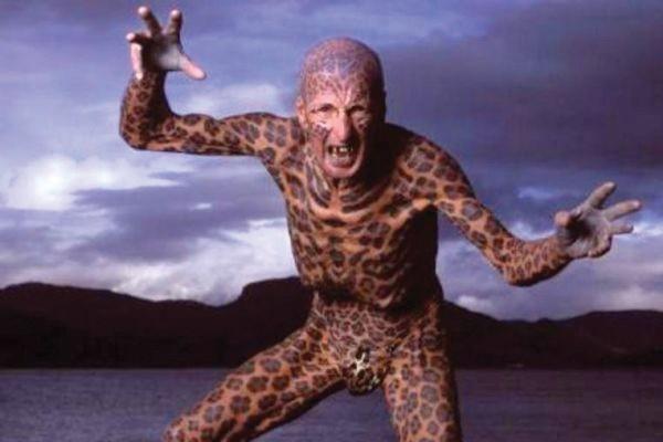 homem leopardo