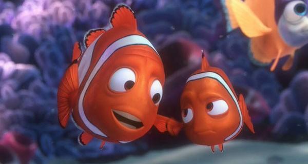 Marlin era um pai superprotetor, assim como o diretor do filme, Andrew Stanton