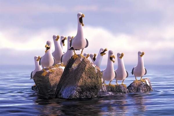 Os som das gaivotas foi traduzido para vários idiomas.