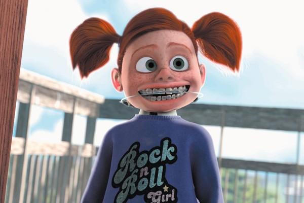 O nome da personagem Darla foi uma homenagem a Darla Anderson, produtora de Monstros S.A.