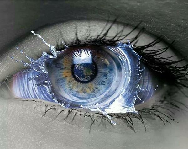 A formação dos olhos