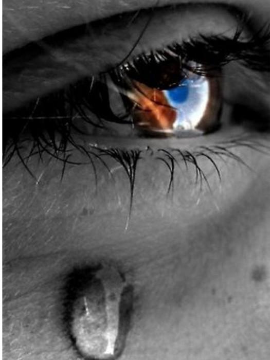 As lágrimas são muito diferentes