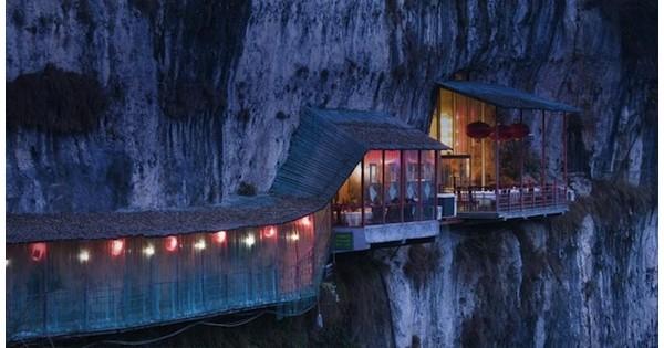 Restaurante da caverna Sanyou