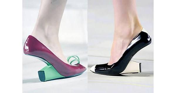 Sapato invertido