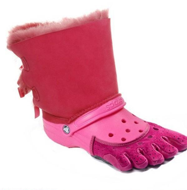 Tênis Pés Pink