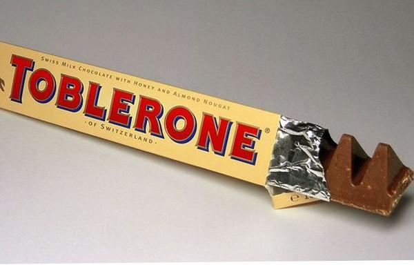 Nunca mais quebre mais chocolate do que você consegue mastigar.
