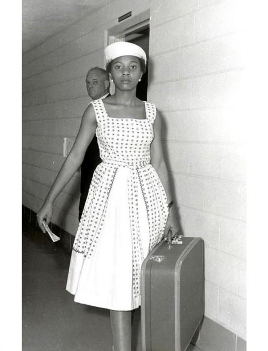 Annie Lumpkins, ativista pelo voto feminino nos EUA – 1961
