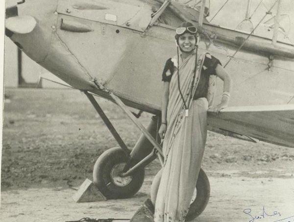 Sarla Thakral, a primeira indiana a conquistar uma licença para pilotar – 1936