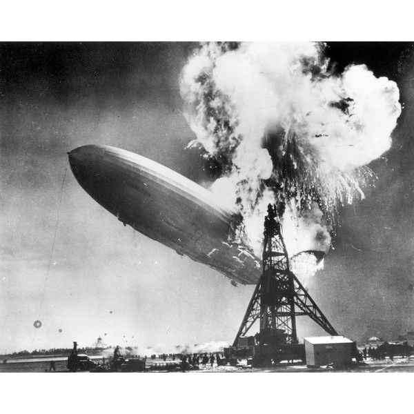 O desastre do Hindenburg