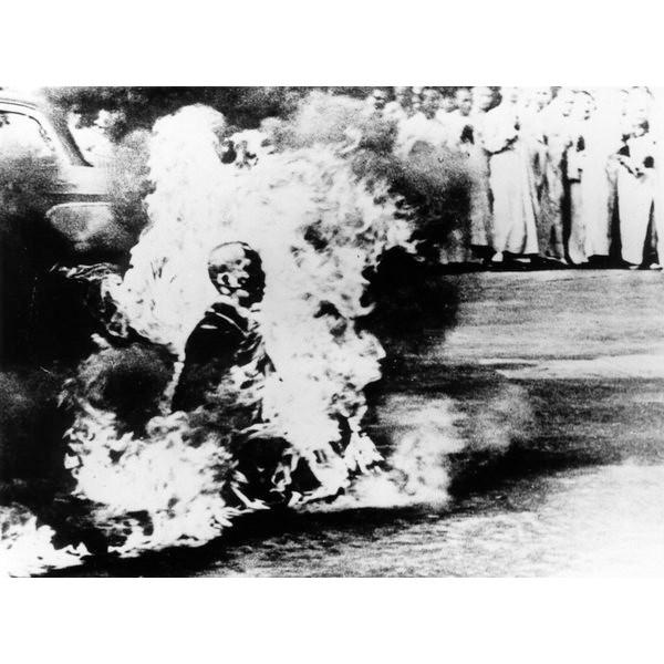 O protesto do Monge
