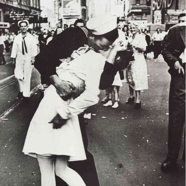 Dia da Vitória na Times Square