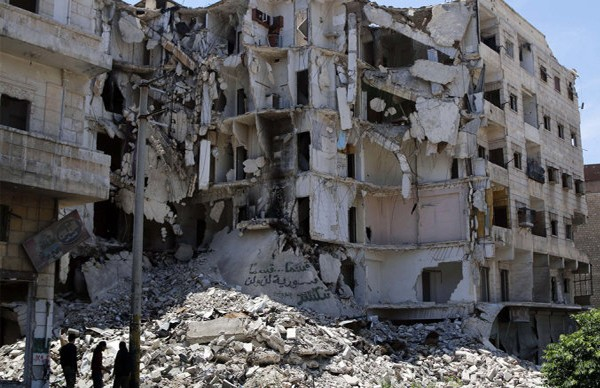 Terremoto em Aleppo, na Síria