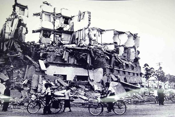 Terremoto de Tangshan, na China