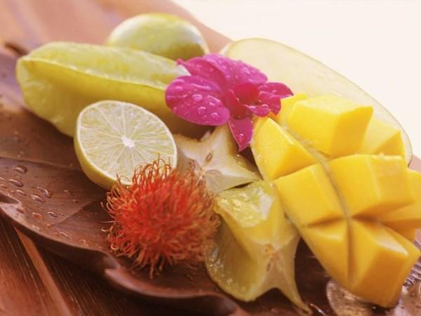 O café da manhã fitness do Havaí
