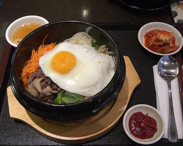 Café da manhã na Coreia – kimchi