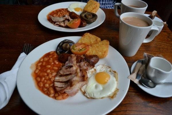 Café da manhã na Inglaterra