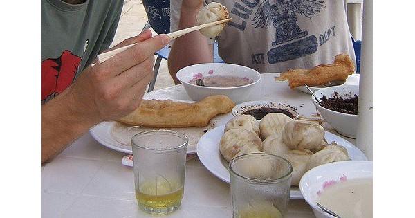 Café da Manhã na Mongólia