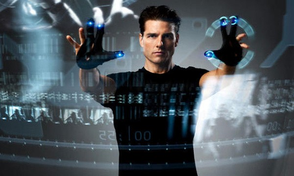 Interface de toque – Minority Report: A Nova Lei (2002)