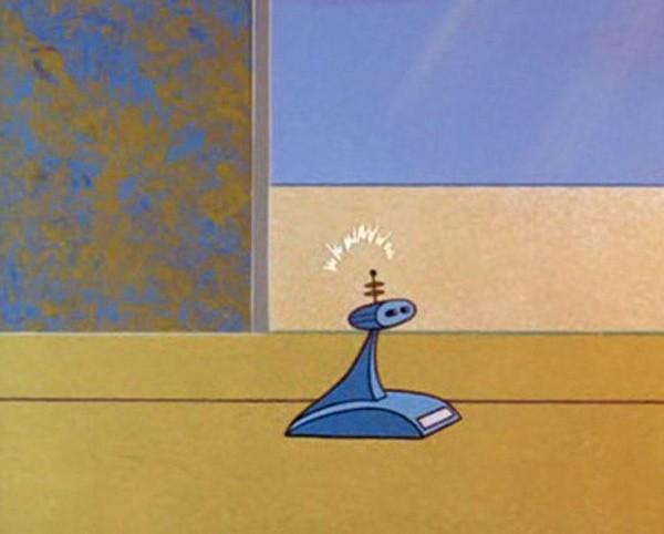 Robô aspirador – Os Jetsons (1962)