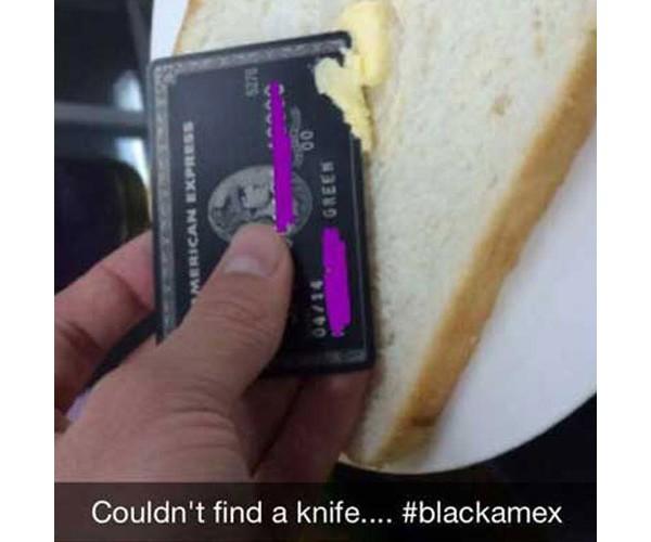 Quando você não tem faca