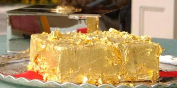 Bolo Dourado do Sultão