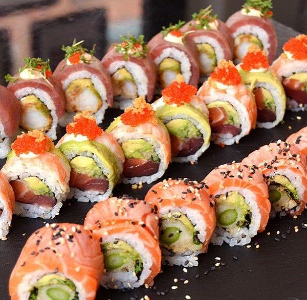 Sushi não veio do Japão