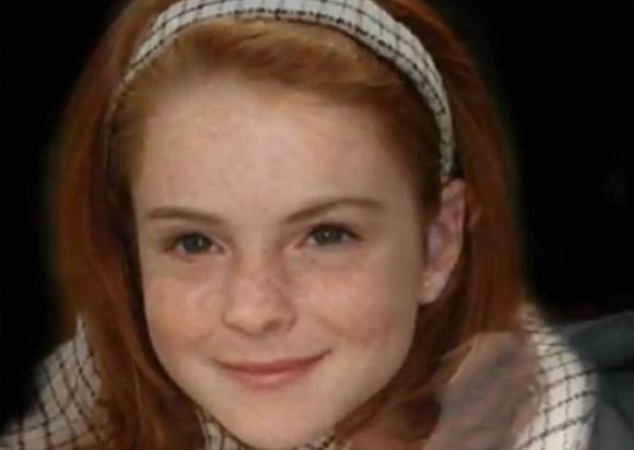 1. Lindsay Lohan, uma menina adorável