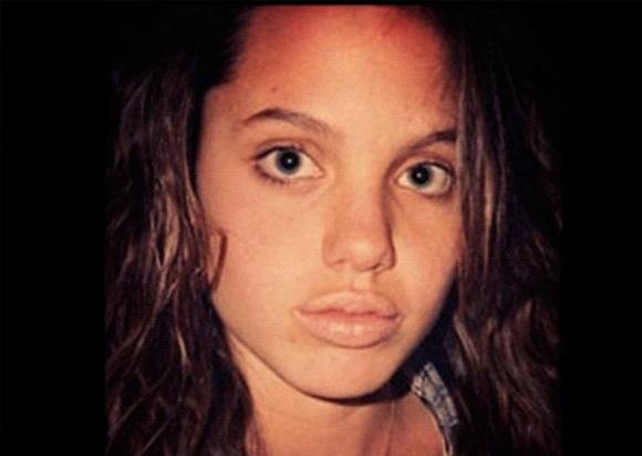 9. Angelina Jolie, beleza selvagem