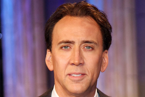 5. Nicolas Cage e seu 'duble' do período da guerra civil