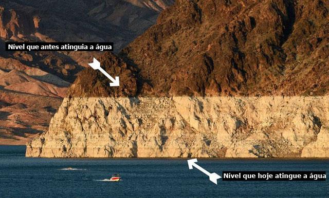 1. Lago Mead, Nevada