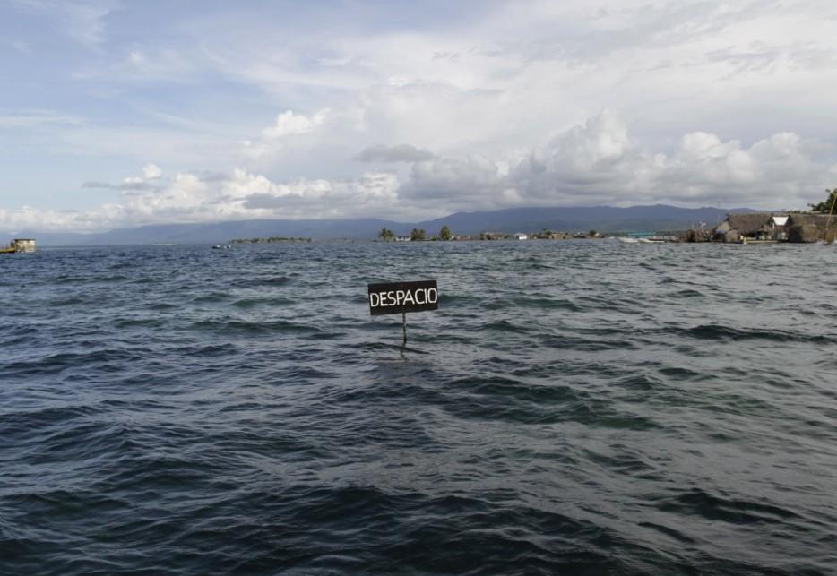 6. O nível do mar está subindo