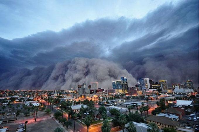 16. Tempestades de poeira