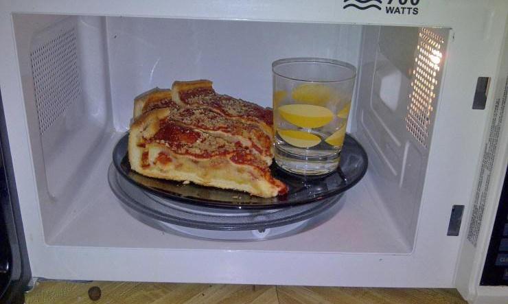 2. A pizza sempre crocante