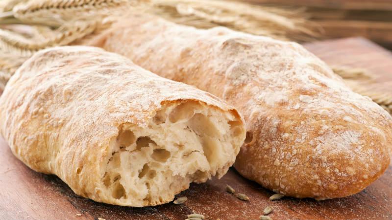 6. Descongelar o pão com o microondas