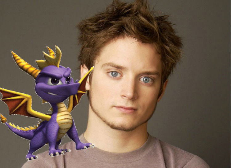 2. Elijah Wood: The Legendo f Spyro