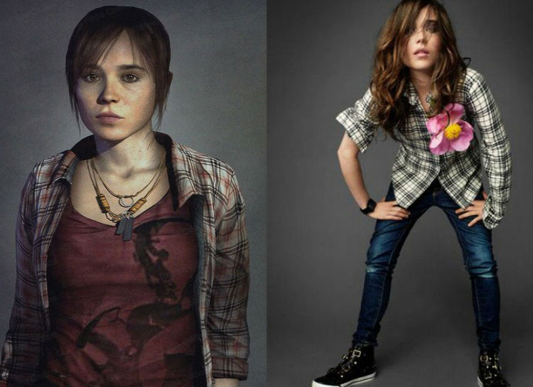 3. Ellen Page: Beyond Two Souls