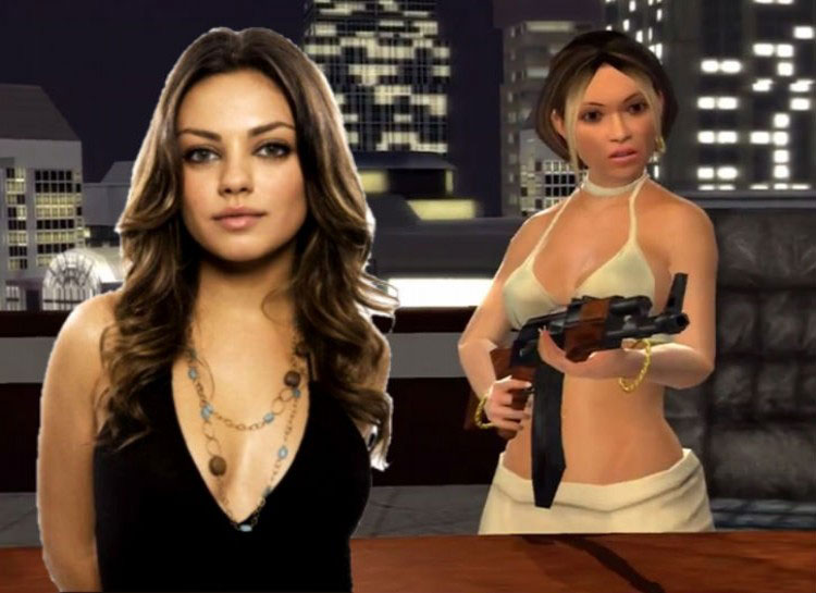 5. Mila Kunis: Saints Row