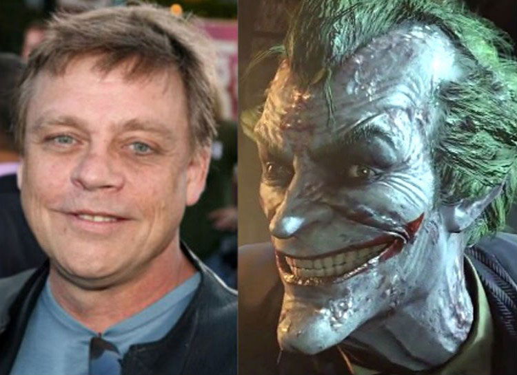 7. Mark Hamill: Batman – Arkham City