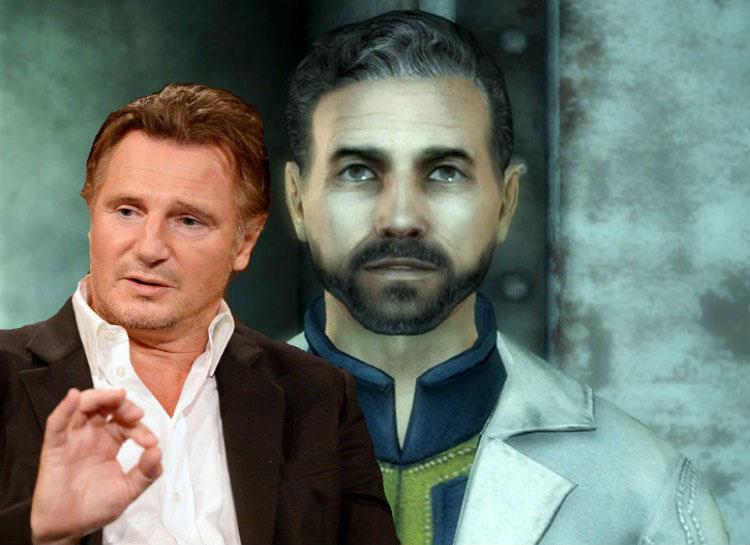 9. Liam Neeson: Fallout 3