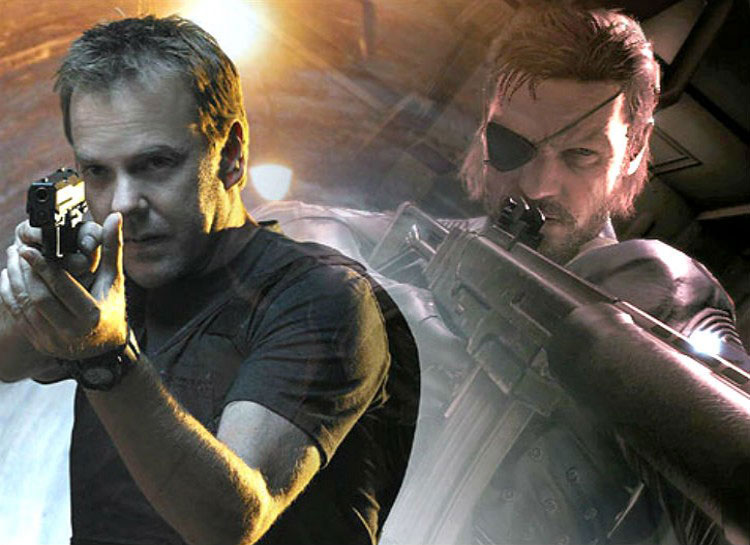10. Kiefer Sutherland: Metal Gear Solid V – The Phantom Pain