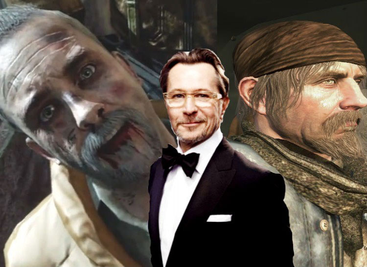 11. Gary Oldman: Call of Duty