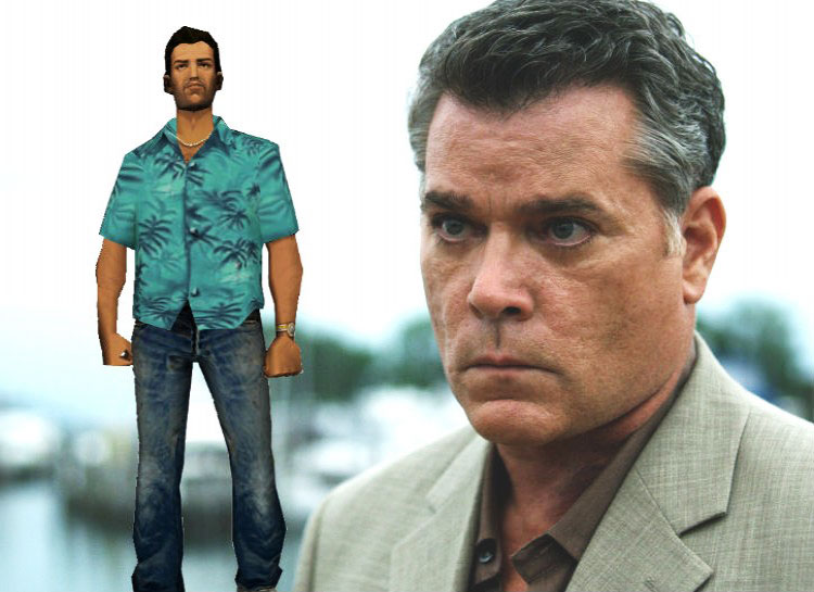 13. Ray Liotta: Grand Theft Auto – Vice City