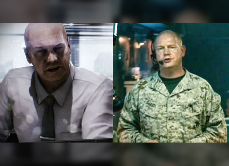16. Glenn Morshower e Mark Ivanir: Battlefield 3