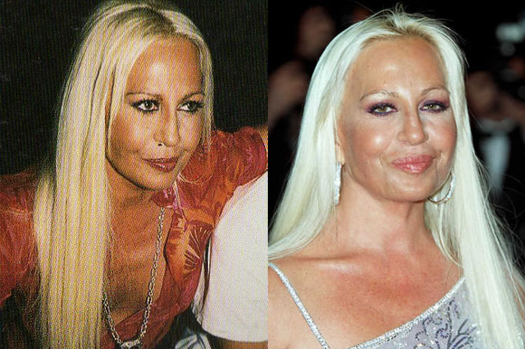 1. Donatella Versace
