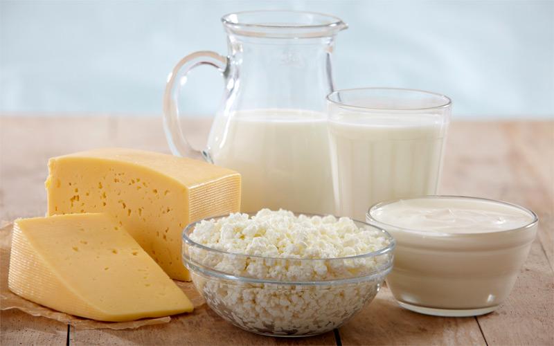 4. O leite e queijos com baixo teor de gordura